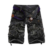 Top quality free shipping men shorts cargo short trousers mens board shorts 3 colors 28-38 A2292