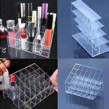 1pcs Clear  24 Display Stand Holder Makeup Lipstick Cosmetic Storage(China (Mainland))