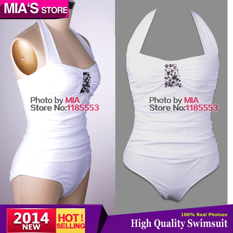 Free shipping Hot selling 2014 ONE PIECE diamond PLUS SIZE Sexy Swimsuit Swimwear For Women Beach wear Brand Bathing Suits XXXL(China (Mainland))