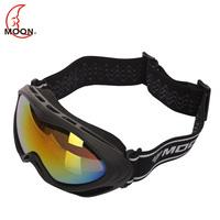 Moon child ski eyewear double layer pc spherical large outdoor antimist thickening of the eyeshot sponge child gogglse
