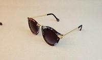 Free Shipping 2013 Brand Designer Vintage Trend Sunglasses For Women Men Round Retro Sun Glasses Sports Bike