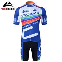 Summer short-sleeve veobike ride service set car mountain bike clothes