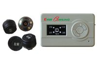 wireless tire pressure monitoring system universal type TPMS  4 wheel vehicles External use ET-1-W Free shipping by EMS