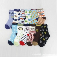 Free shipping,2013 new Children's cotton socks Baby boy socks made of pure cotton socks 4 to 6 years old