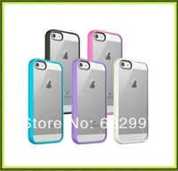 12PCS  Belkin Petals Case for Apple iPhone 5 / 5s Transparent Colorful TPU Border Slim Compact Easy Grip F8W153