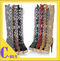 shoes 2014 NEW sandals party leisure ladies shoe dress women's high heels casual HOT SALE NS007 size 31-43