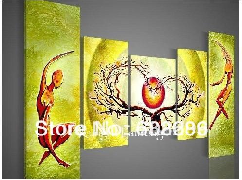 Online kopen wholesale korting canvas schilderijen uit china korting canvas schilderijen - Decoratie schilderij gang ...