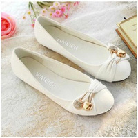 FREE SHIPPING! women's Spring and autumn single shoes, female flat heel shoes, shallow mouth flats, size 35-43!