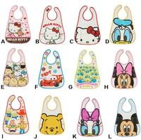 Skip Baby products Bibs burp cloths Infant Saliva apron kids Towels Baby bib Waterproof Infant cartoon Mickey bibs