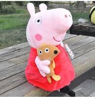 19CM  Peppa Pig Toys19 CM Peppa Pig Plush Baby Toys Stuffed Gift Doll birthday gift free shipping