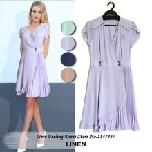 summer linen dress promotion