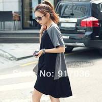 2014 summer women's plus size loose o-neck mm short-sleeve T-shirt casual summer mm