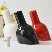 Modern home decoration crafts bottle flower vase 8.5