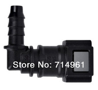Free shipping ! SAE7.89-8.3 90 Degree  Quick Connector  for fuel pump assembly