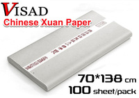 Free shipping VISAD 100 pcs/lot Chinese rice paper for painting & calligraphy,Traditional Chinese hand-made painting xuan paper
