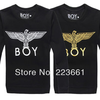 New man spring 2014 fashionable summer boy london supreme long sleeve brand men's tops t shirt sport casual slim short t-shirts