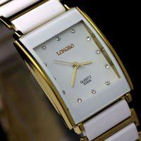 2014 New Luxury Fashion Watch Women Watches Quartz Diamond Watchband and Dial Womens Watches Women Ceramic wrist watches