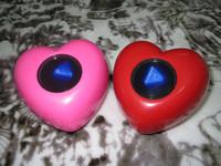 Free shipping Prophecies heart ball magic ball toy love magic ball 220g