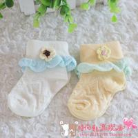 Children socks female child baby infant breathable socks spring and autumn