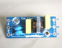 Mini EMI Filter board KIT clean you AC power noise support 110V ~ 240V
