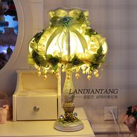 Romantic princess lace romantic lamp child fabric bedside lamp fashion marriage