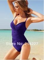 Factory Wholesale Solid Color Show Thin Style Tankini Women Swimwear Bikini Sexy Beach Swim Wear Swimsuits Beachwear Bathers