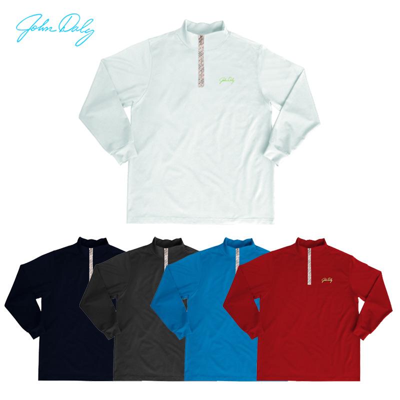 L'arrivée de nouveaux jd golf. vêtements d'hiver au chaud et les hommes à long- manches shirt velours plus de base à glissière en coton style pied de col
