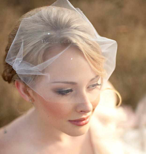 Explosive mesh hair accessories wedding dresses bridal veil tiara