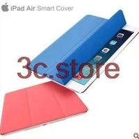 New Arrival high quality For ipad air 5 protective smart cover stand leather case skin Sleep and Wake up free shipping