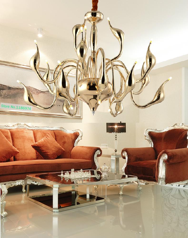 lampadario moderno led lampadario lampade a 12 braccia g4 bianco rosso ...