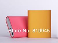 Free shipping original xiaomi  silicon case multi color for original xiaomi10400mah power bank