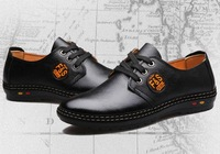 Free shipping, Spring, everyday, casual, Korean, business, fashion, male, leather, shoes