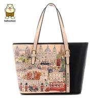 2014 trend of print fashion handbag shoulder bag fashion handbag vintage women's