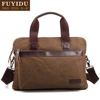 Male casual business bag briefcase a4 file bag  for ipad   flat bags handbag