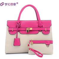 Spring dream bags fashion women's handbag picture package 2014 one shoulder nvbao sweet handbag