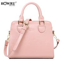 Howru 2014 spring sewing thread candy color one shoulder handbag cross-body women's handbag