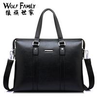 Man bag business casual shoulder bag messenger bag handbag briefcase bag