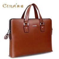 Man bag casual handbag shoulder bag cowhide male bag briefcase business bag leather bag