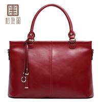 2014 cowhide women's one shoulder handbag big bag casual handbag cross-body women's bags