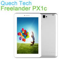"Wholesale 7"" WCDMA 3G Tablet Phone Freelander PX1c MTK8382 Quad Core Bluetooth GPS Dual SIM Card 1GB RAM 8GB ROM Android 4.2 OS"
