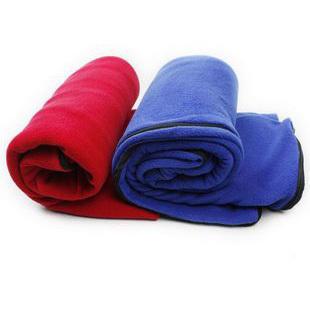 Fleece sleeping bag double faced ball outdoor sleeping bag liner travel sleeping bag envelope style(China (Mainland))