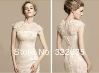 Free Shipping 2014 New Arrival Pure colorWomen's Velvet Lace Prom Gown Ball Evening Dress