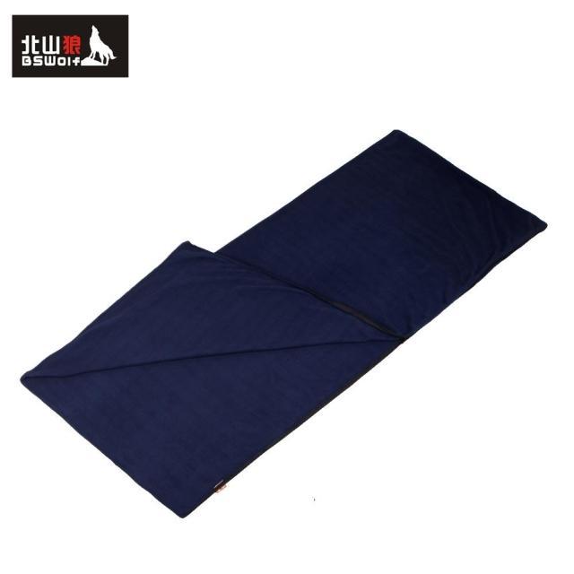 Envelope bswolf outdoor fleece sleeping bag summer sleeping bag sleeping bag liner(China (Mainland))