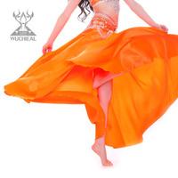 2014 New Upscale Practice Belly Dance Skirt Dance Performances 360-Degree Swing Skirt TP 2119