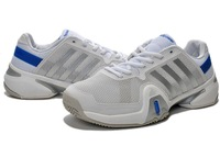 2014 The newest generation of ADIPOWER BARRICADE Sa wind 8 men's tennis shoes Q20692 size: eur 40 --- 45, free shipping ,white