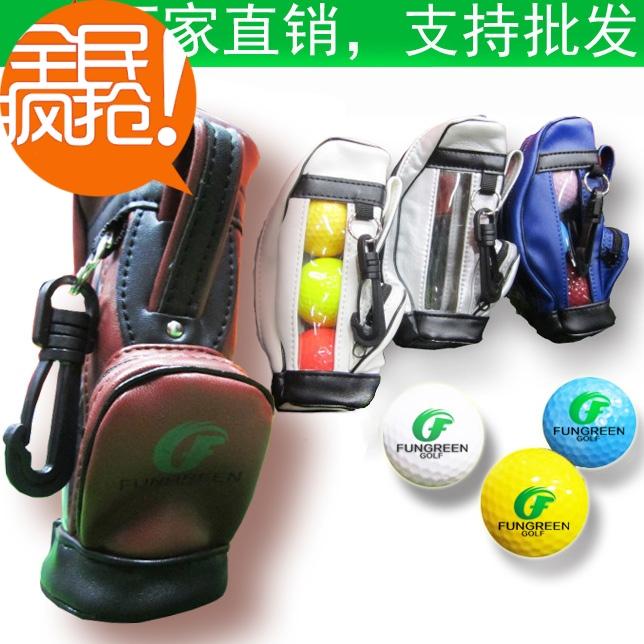 Spherule mini bag golf ball bag small waist pack gift(China (Mainland))