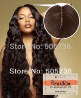 "Unprocessed Brazilian Human Hair Lace Closure 4x4"" Human Hair middle part lace Closure bleach knots  Free shipping"