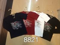 Boy  Bilayer T-shirt children's spring  Thickened Windbreaker,short sleeve,Boy's fashion cotton T-shirt