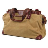 2014 New Casual Vintage Style Canvas Travel Duffle Bag For Men Large Travel Tote Sports Gym Bag Shoulder Messenger Bags