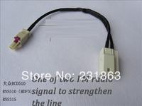 RCD510 + enhanced version RNS510 (MFD3) RNS315 radio antenna one of two interfaces resume conversion line